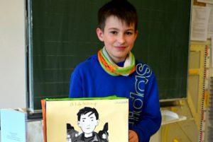 "Buchportfolio ""35 Kilo Hoffnung"""